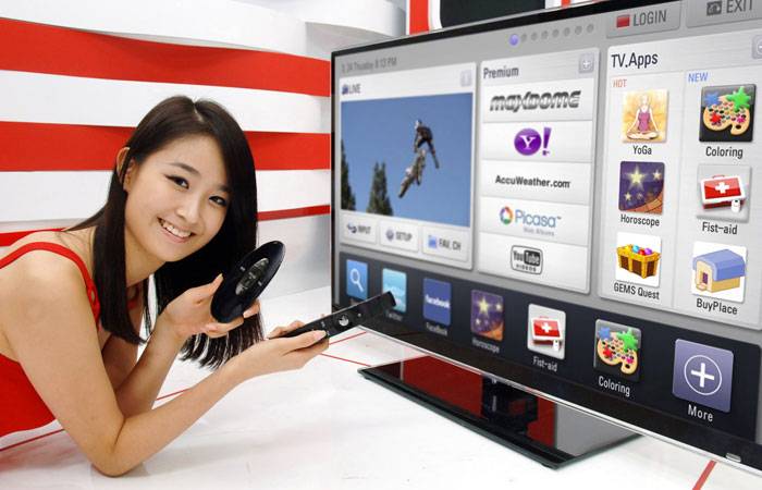 Smart Tivi và Internet tivi